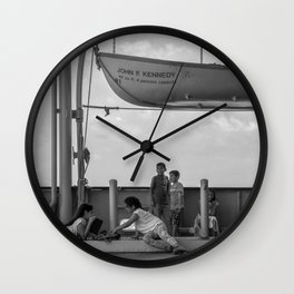 Simple Times NYC Wall Clock