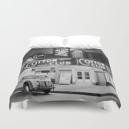 African American Harlem Renaissance Cotton Club Jazz Age Photograph Duvet Cover