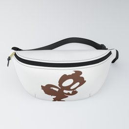 Chimchar Silhouette Fanny Pack