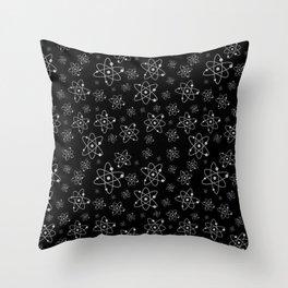 A million atoms | Atom art work | Science design | Scientific | Science decor | Universe Throw Pillow