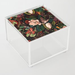 FLORAL AND BIRDS XIV Acrylic Box
