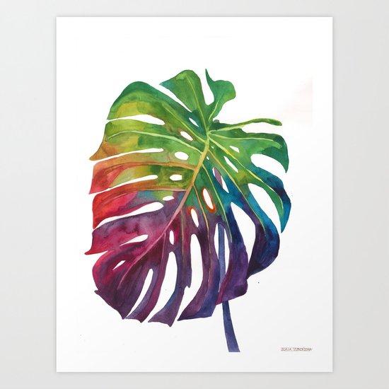 Leaf vol 1 Art Print