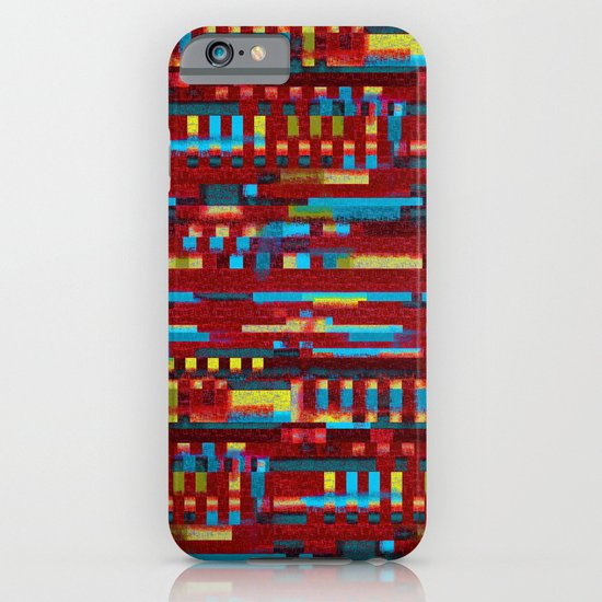 Manly cubes of color iPhone & iPod Case