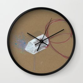 Quartz - These are the things I use to define myself Wall Clock