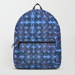 A beaded art print Backpack