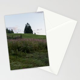 Pastel Dawn On Bavarian Hills Stationery Cards