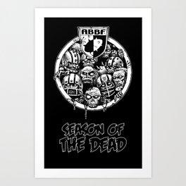 ABBF Classics: Season of the Dead Art Print