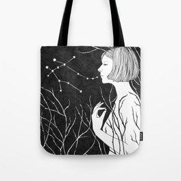 Under Stars (Aurora Aksnes) Tote Bag