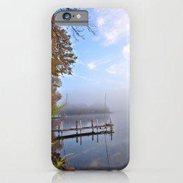 The Adirondacks: Misty October Morning iPhone Case