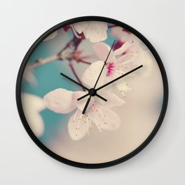 spring blossoms II Wall Clock
