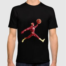 Flash Jordan Mens Fitted Tee Black MEDIUM