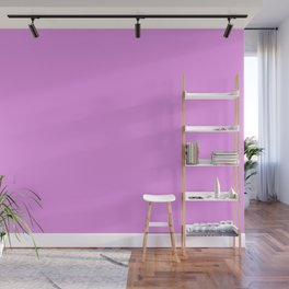 Spring - Pastel - Easter Purple Solid Color 2 Wall Mural