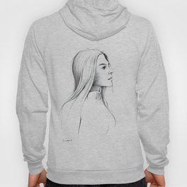 Girl with Nose Pin Hoody