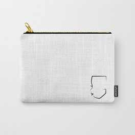 Gheri Thomas Logo Carry-All Pouch
