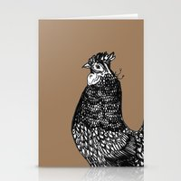 chicken Stationery Cards featuring Chicken  by Aubree Eisenwinter
