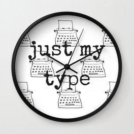 My Type Wall Clock