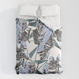 Cyber Graffiti Comforters