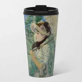 Edouard Manet - Spring Travel Mug