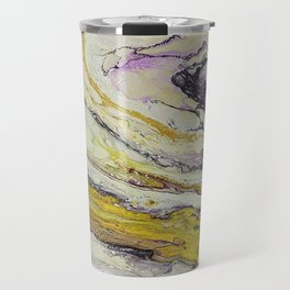 Planet of reptiles, abstract, acrylic on canvas Travel Mug