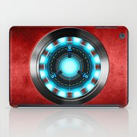 iron man iPad Cases featuring Iron Man Iron Man by ThreeBoys