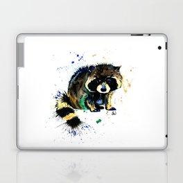 Raccoon - Splat Laptop & iPad Skin