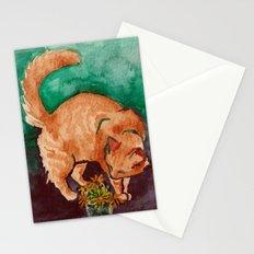 saint cat Stationery Cards