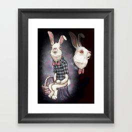 Awkward Easter Framed Art Print
