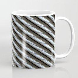 Steel Yourself - Metal Cable Design Coffee Mug
