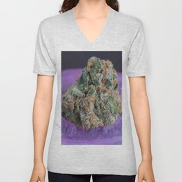 Jenny's Kush Medical Marijuana Unisex V-Neck
