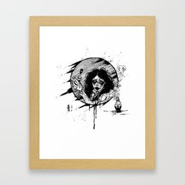 Plan n. 1 - Poisonous Framed Art Print