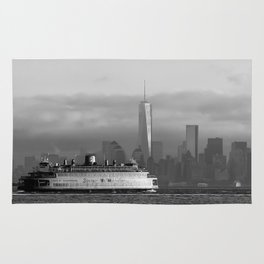 Ferry & Freedom Tower Rug
