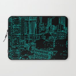 City of the Future Laptop Sleeve