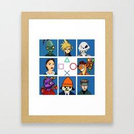 The PS1 Bunch V2 Framed Art Print
