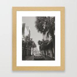 A 1950's Beach Dream Framed Art Print