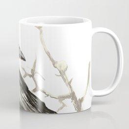 Raven on the Tree Coffee Mug