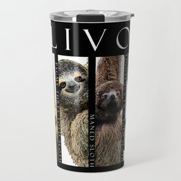 Sloths of South and Central America Travel Mug