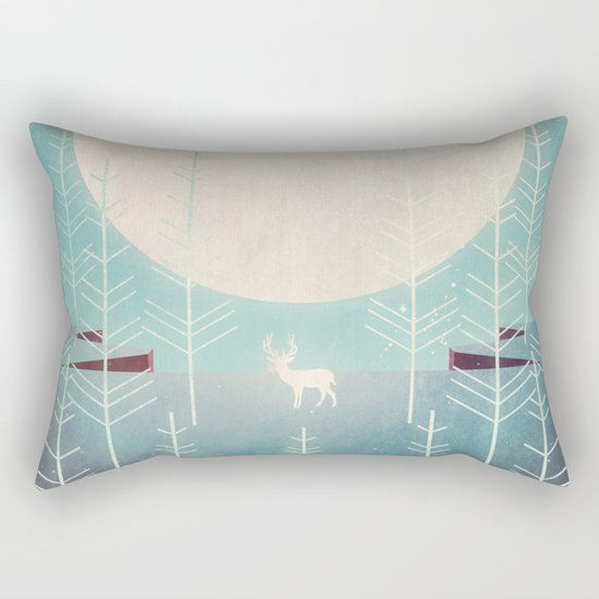 Silent Night Rectangular Pillow