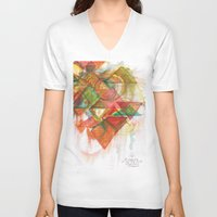 trip V-neck T-shirts featuring TRIP by SEBER