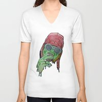 kurt rahn V-neck T-shirts featuring Kurt  by Montana