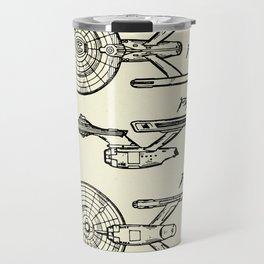 Starship Enterprise Startrek -1981 Travel Mug
