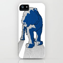 Lines Of Tiger iPhone Case