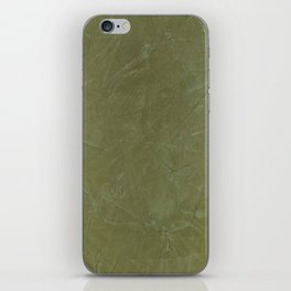 Italian Style Tuscan Olive Green Stucco - Luxury - Comforter - Bedding - Throw Pillows - Rugs iPhone Skin