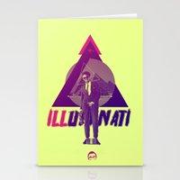 illuminati Stationery Cards featuring ILLuminati by Jimi Thompson