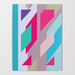 Abstracts colors Nr.2 Poster