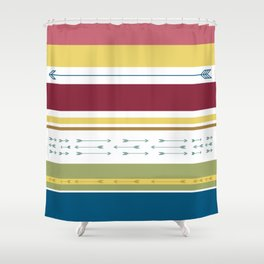 Arrows & Colours I Shower Curtain