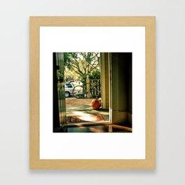 House on Duffy Framed Art Print