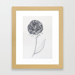 Blooming Madness Framed Art Print
