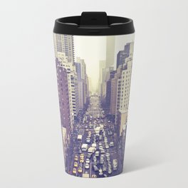 flying over first... (colour) Metal Travel Mug