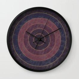 Circles Abstract Wall Clock