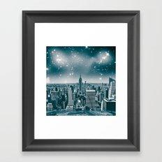 dreamcity2 Framed Art Print